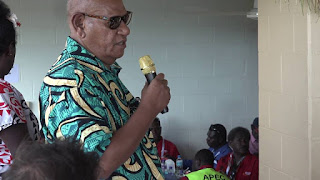 ABG President Momiis applauds peace efforts on Bougainville
