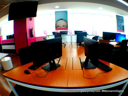 Magenta-Sky-At-TeleTech-Office