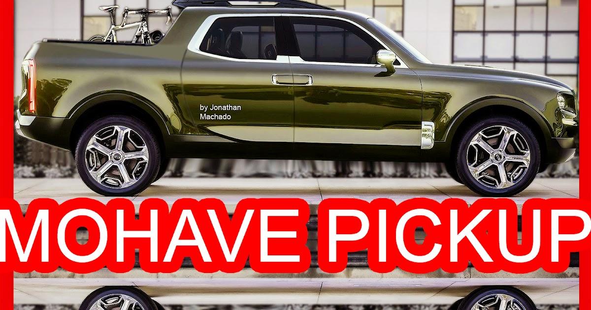 Photoshop New 2018 Kia Mohave Pickup Telluride Concept