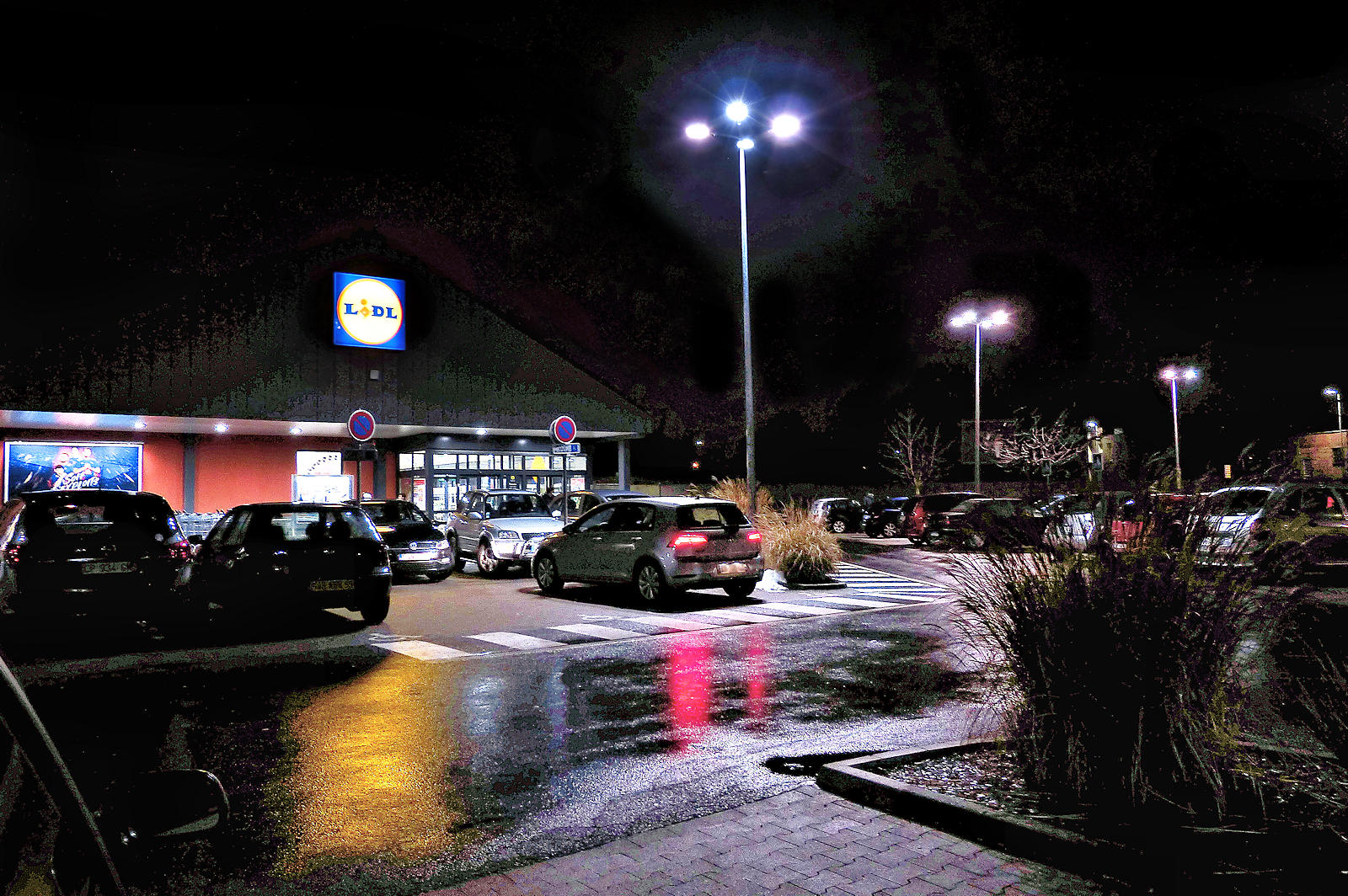 Lidl Levant Gare - Supermarché, Tourcoing
