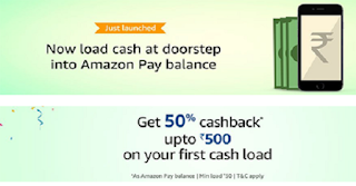 Amazon Pay Cashback Offer