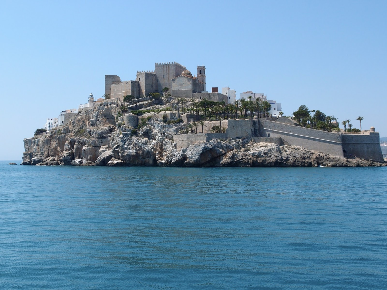 Old town and castle, Peñiscola, Spain