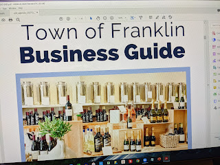 "cover of the draft ""Business Guide"""