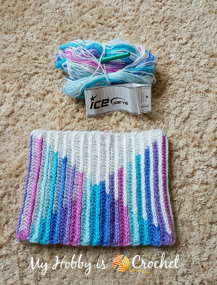 My Hobby Is Crochet Tutorial How To Crochet Planned Color Pooling
