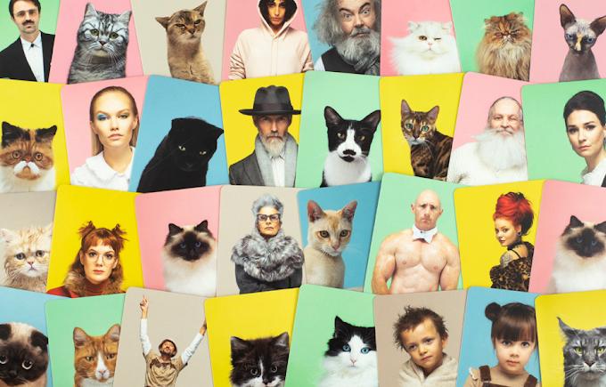 ¿Te pareces a tu gato? Disfruta de este proyecto donde el fotógrafo Gerrard Gethings une a personas con sus dobles gatunos