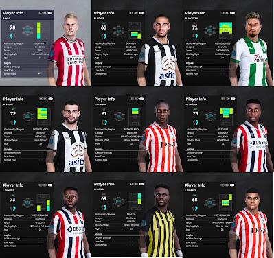 PES 2021 Eredivisie Facepack V4