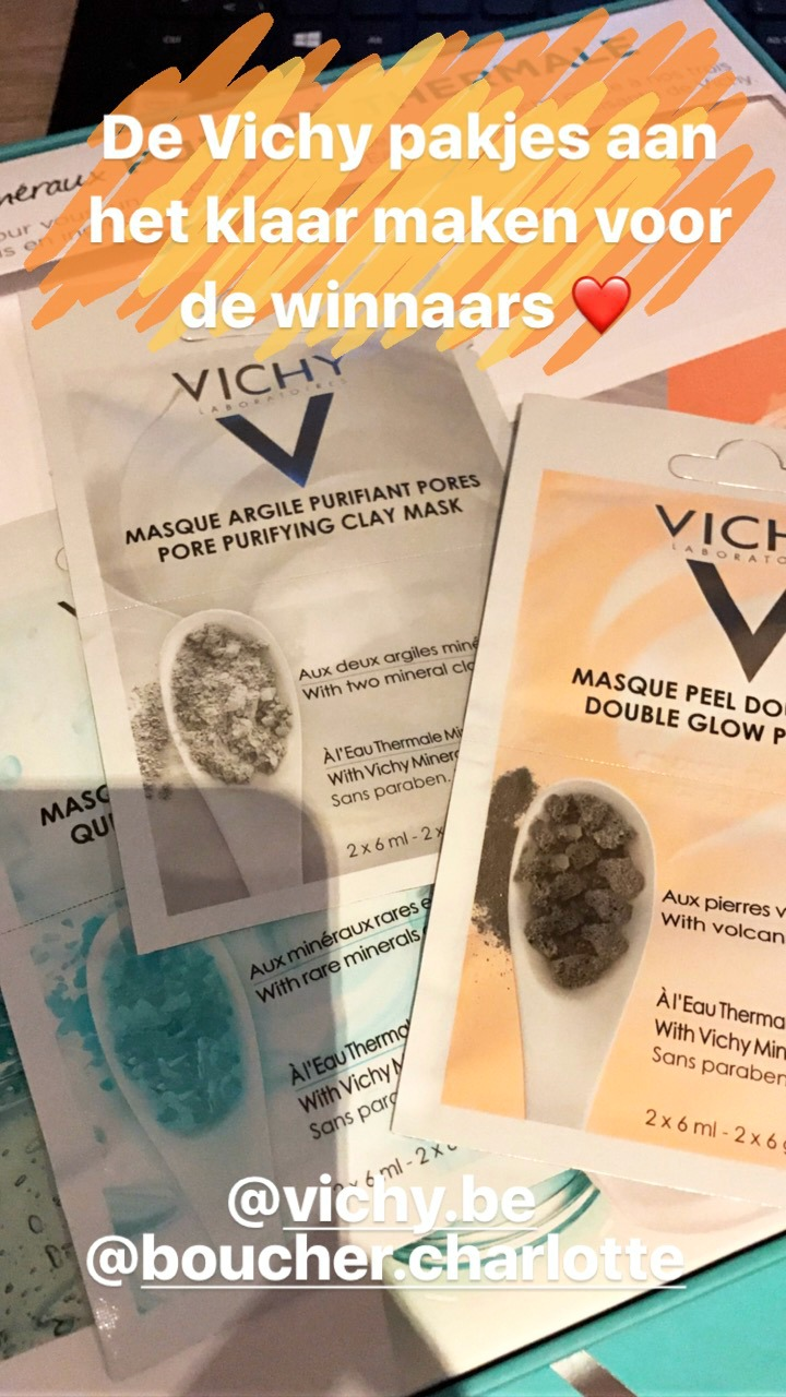 Vichy mineralen maskers