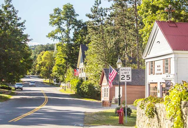 Grafton village in Vermont