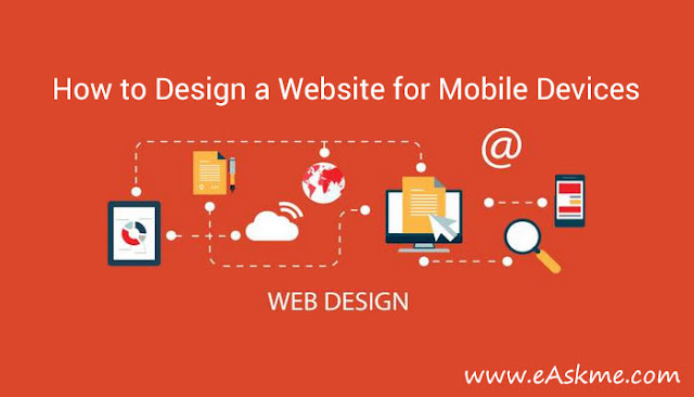 How to Design a Website for Mobile Devices: eAskme