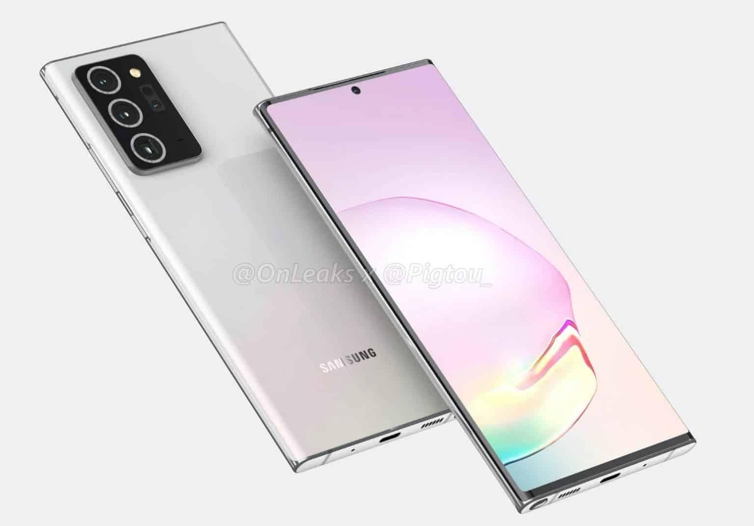 من الطبيعي أن نفكر أننا أمامنا بضعة أشهر فقط من معرفة سلسلة Galaxy Note 20 في الوقت الحالي. تتبنى Samsung جدول إصدار أغسطس منذ عدة سنوات حتى الآن. بالطبع ، يمكن أن يتغير أي شيء في هذه الأيام التي يعاني منها جائحة COVID-19. ومع ذلك ، بقدر ما تذهب الشائعات ، نحن نلتزم بالجدول الزمني المعتاد. بالنظر إلى هذا يبدو أن بعض البائعين على Alibaba لديهم بالفعل مخزون جيد من حافظات Galaxy Note20 + جاهزة للشحن. بالإضافة إلى الحالات ، تُظهر الصور زوجين من الهاتف ، لكنهما يعتمدان على مخططات غير مكتملة. يبدو أن الجانب الأمامي هو ثمرة الخيال ، في حين أن الأجزاء الخلفية والجانبية أكثر دقة. بعد كل شيء ، يجب أن يكونوا مثاليين لتناسب الهاتف.  بعد مزيد من الفحص ، من السهل ملاحظة الطبيعة المنحنية لشاشة Galaxy Note 20+. يذهب الجانبان الأيسر والأيمن من العلبة جزئيًا فقط ، ويترك الباقي للعرض. توجد شفاه في الجزء العلوي والسفلي لضمان بقاء الهاتف في مكانه. بالطبع ، هذا ليس جهازًا مجنونًا جديدًا مثل Xiaomi MIX Alpha ، هناك مساحة كافية للإطارات الجانبية. ربما ننظر في رؤية الشركة لشاشات عرض الشلال لعام 2020.   انضم إلى GizChina على Telegram         ستحتوي شاشة VANILLA GALAXY NOTE 20 على شاشة مسطحة عندما ننظر إلى حالات Galaxy Note 20 ، يمكننا ملاحظة اختلاف كبير في نوع العرض. جانبي الصندوق يذهبان إلى الأمام. لذلك ، في النهاية ، سيأتي البديل الفانيليا لما يسمى phablet بشاشة مسطحة. يتطابق هذا أيضًا مع ما رأيناه في عرض Galaxy Note و Note 20+. إنها مفاجأة ، ذات مرة أن سامسونج تستخدم شاشات منحنية لجميع هواتفها الرئيسية منذ Galaxy S8. يظهر الجانب السفلي من الحالات ثلاث ثقوب كبيرة. أحدهما لمنفذ USB-C ، وواحد لشبكة مكبر الصوت ، والآخر لقلم S Pen التقليدي في Galaxy Note. أخيرًا وليس آخرًا ، لدينا فتحة صغيرة لميكروفون إضافي.  اقرأ أيضًا: Samsung تطلق Galaxy M31 8GB RAM Variant في الهند ، بسعر 264 دولارًا آخر التفاصيل التي تم رصدها ، في هذه الحالة ، هي قطع مستطيل لجزيرة الكاميرا. لا توجد مفاجآت هنا ، مع الأخذ في الاعتبار أن Samsung تستخدم لغة التصميم هذه لبعض الوقت الآن. وفقًا للشائعات والتسريبات السابقة ، سيتم شحن Galaxy Note 20+ بكاميرا المنظار ، وإذا حكمنا من خلال العروض ، يمكننا أن نرى أن منشئ المحتوى حاول 