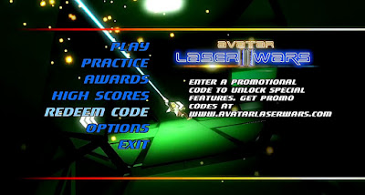 Intro sequence plays behind the menus