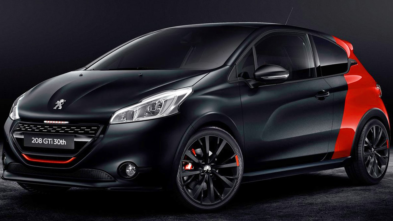 peugeot 208 gti 30th anniversary edition 2015 aro 18 1 6 thp turbo 208 cv 30 6 mkgf 0 100 kmh 6. Black Bedroom Furniture Sets. Home Design Ideas