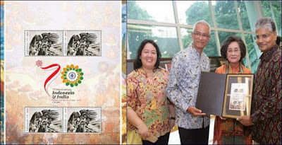 Indonesia Releases a Stamp on the Theme of Ramayana