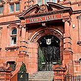 ingles para niños, town hall