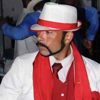 Léo China - coordenador de passistas da Unidos da Vila Santa Tereza