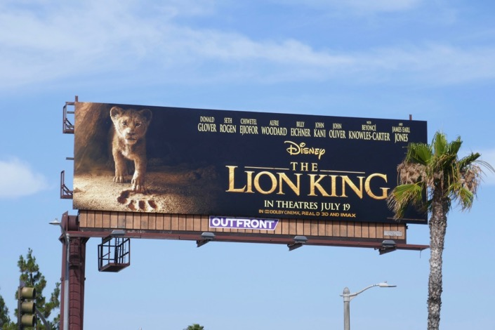Lion King Young Simba billboard