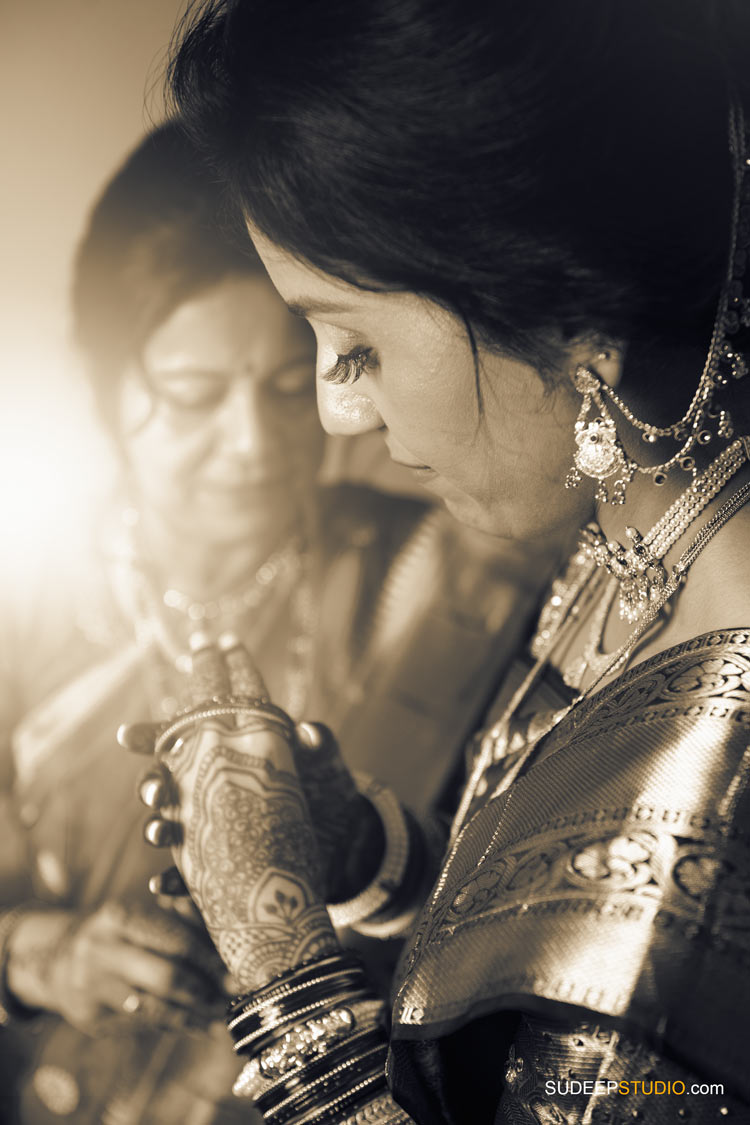 Indian Wedding Photography Bride Getting Ready by SudeepStudio.com Ann Arbor South Asian Indian Wedding Photographer