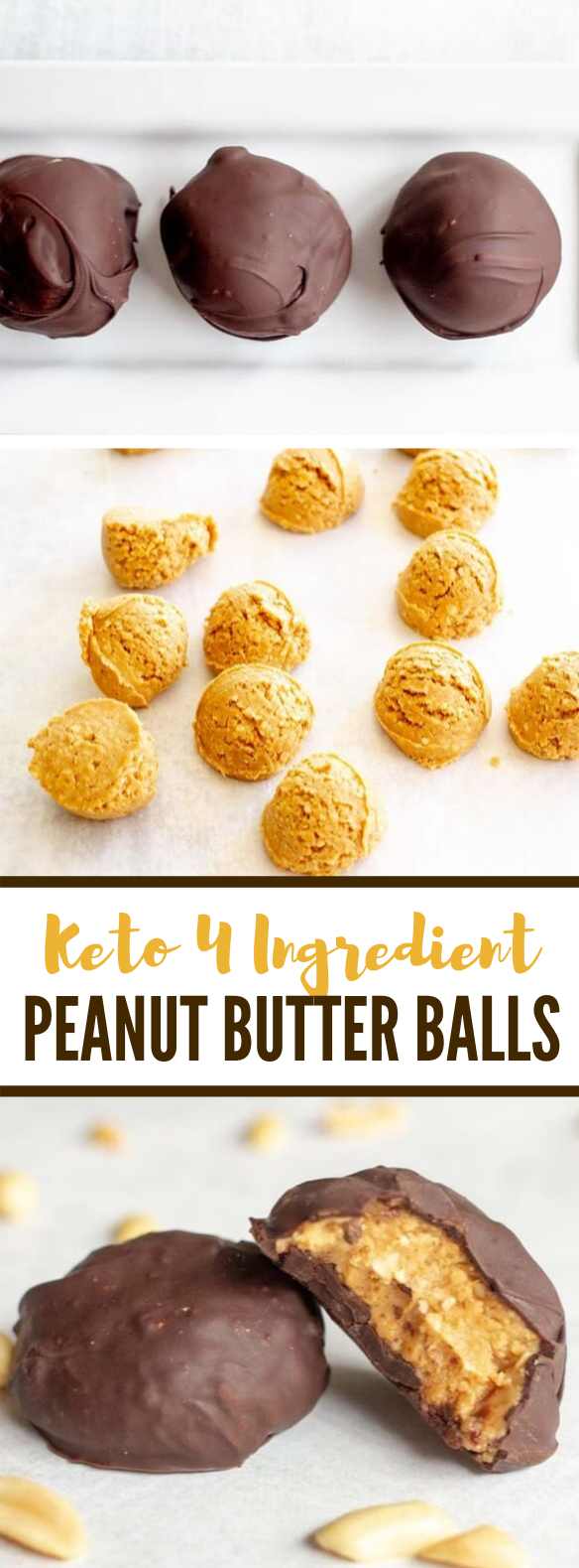 HEALTHY PEANUT BUTTER BALLS EASY KETO LOW CARB #healthydesserts #diet