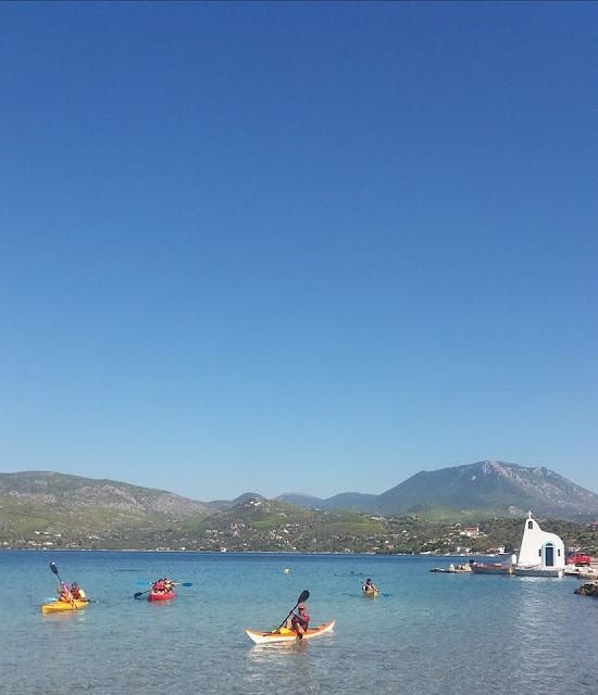 Lake Vouliagmeni Loutraki Greece Photo Greeker than the Greeks