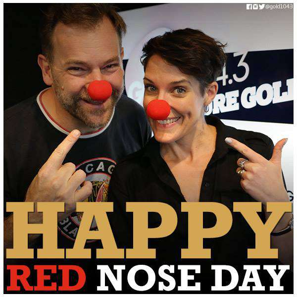 Red Nose Day Wishes for Whatsapp