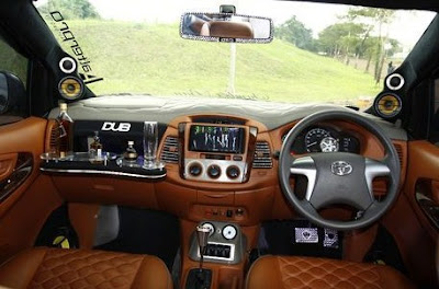 Foto modifikasi Interior All Toyota Kijang Innova
