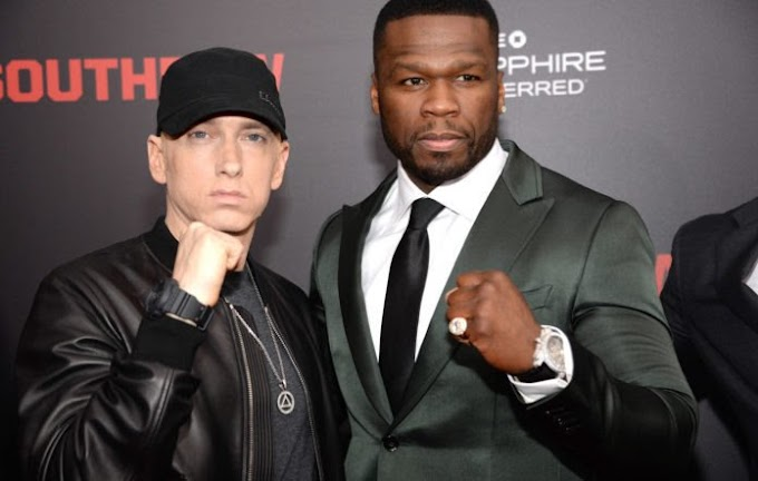 Eminem Talks About 50 Cent Album and Favorite Project Red Flu