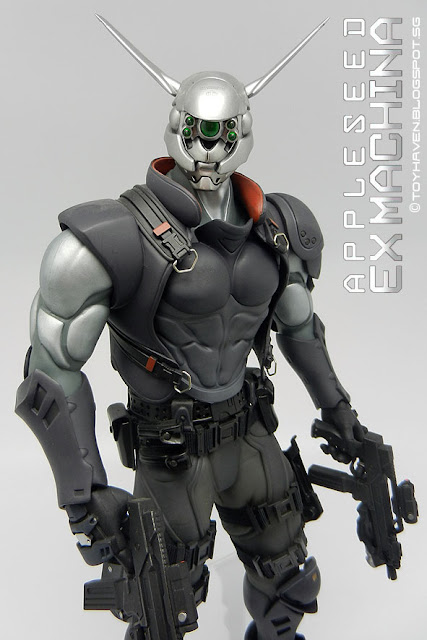 Toyhaven Hot Toys Mms Appleseed Ex Machina 1 6 Scale Briareos 14 Inch Pose Able Action Figure
