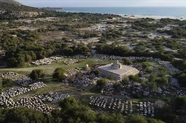 Ancient Patara Lighthouse to shine again on Anatolia's southwest coast