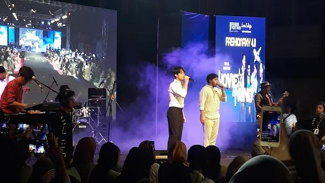 Penampilan Yovie n Nuno Tutup Manis Event Fashionaxy 4.0 Aerospace Prosperity Bandung