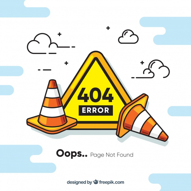 404 error page ilustrasi