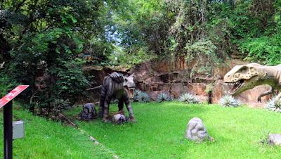 dinossauros pedra parque rocha moutonnée