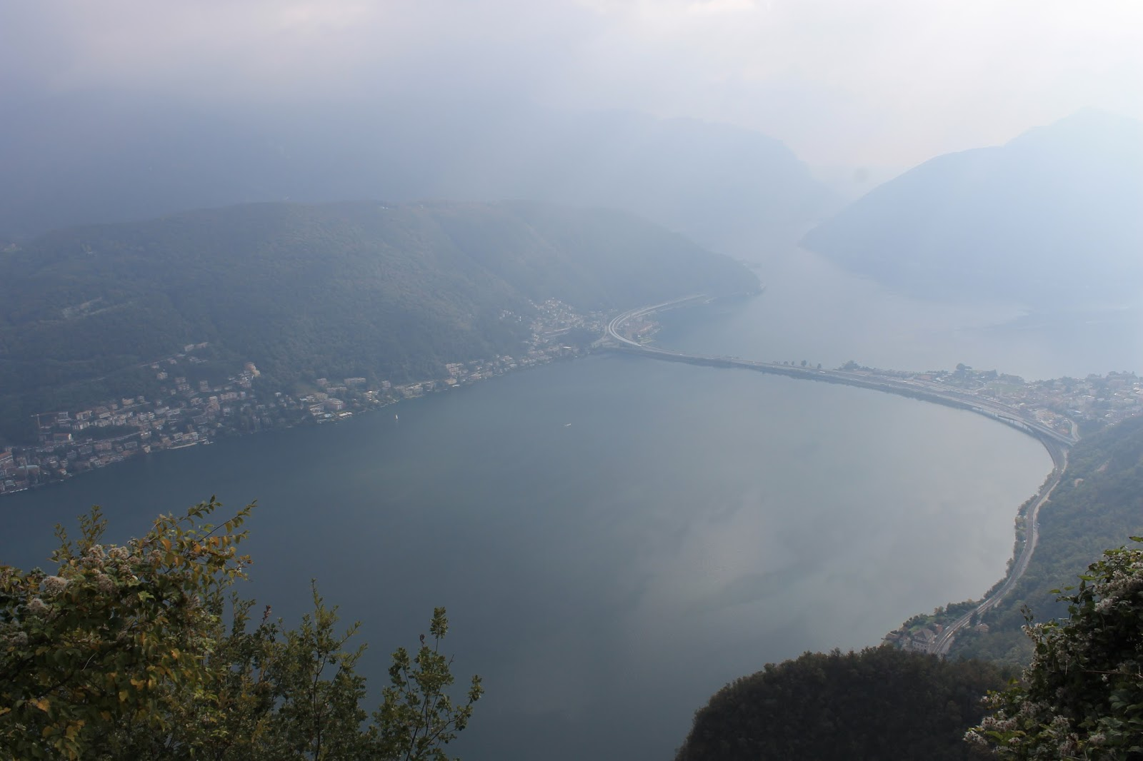 Vista do Monte San Salvatore - Lugano