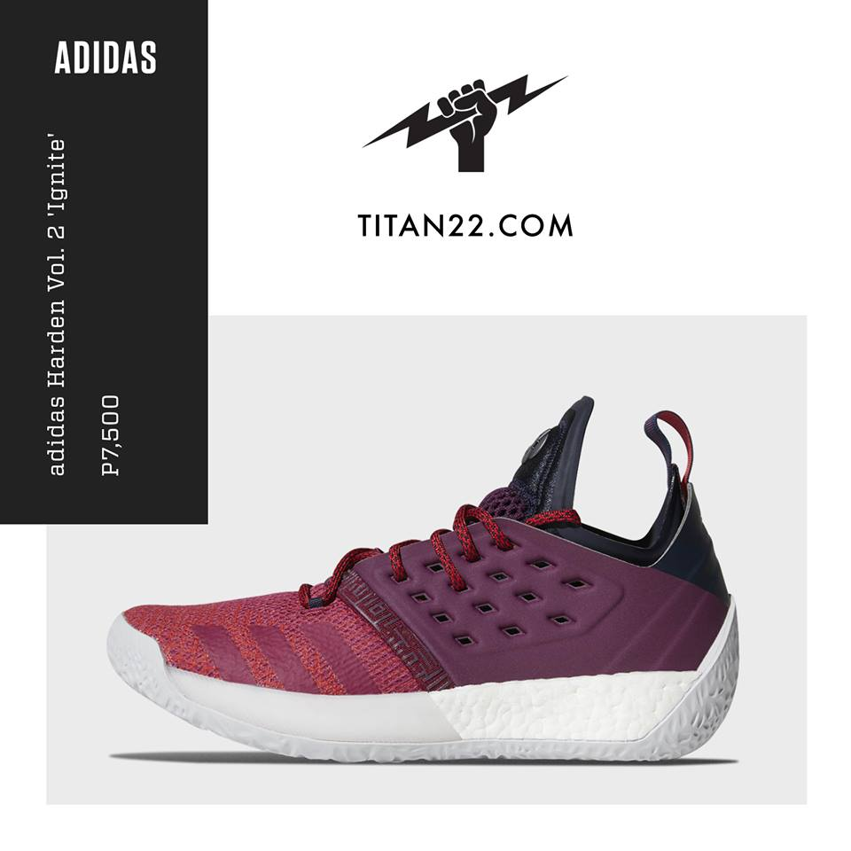 c929be16715c adidas Harden Vol. 2  Ignite  available now at Titan