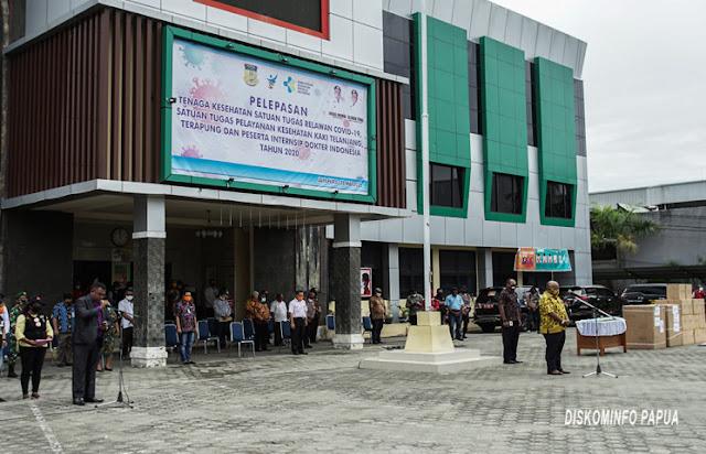 Pemprov Papua Kirim Relawan Covid-19 Ke 16 Kabupaten dan Kota