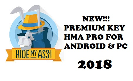 NEW PREMIUM KEY HMA PRO ANDROID & PC