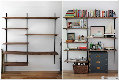 dyi shelves wall Unit