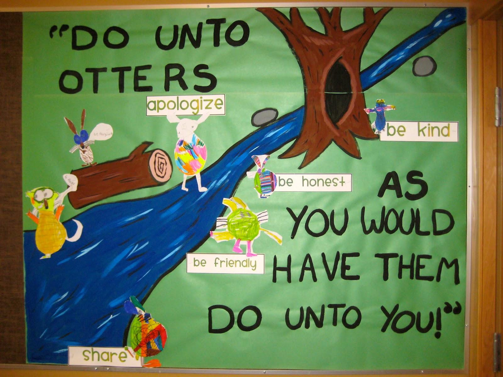 Ms Liebel S Classroom Do Unto Otters