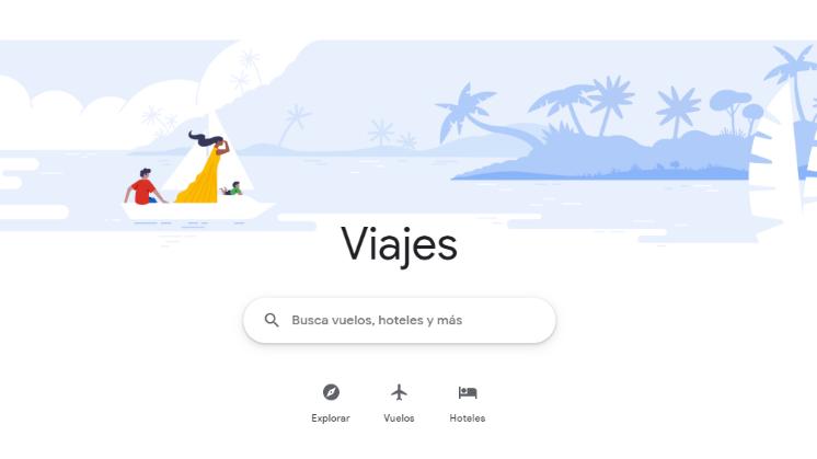 Google Travel: la plataforma de viajes