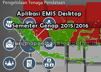 Download Aplikasi EMIS Desktop Semester Genap Tahun 2016
