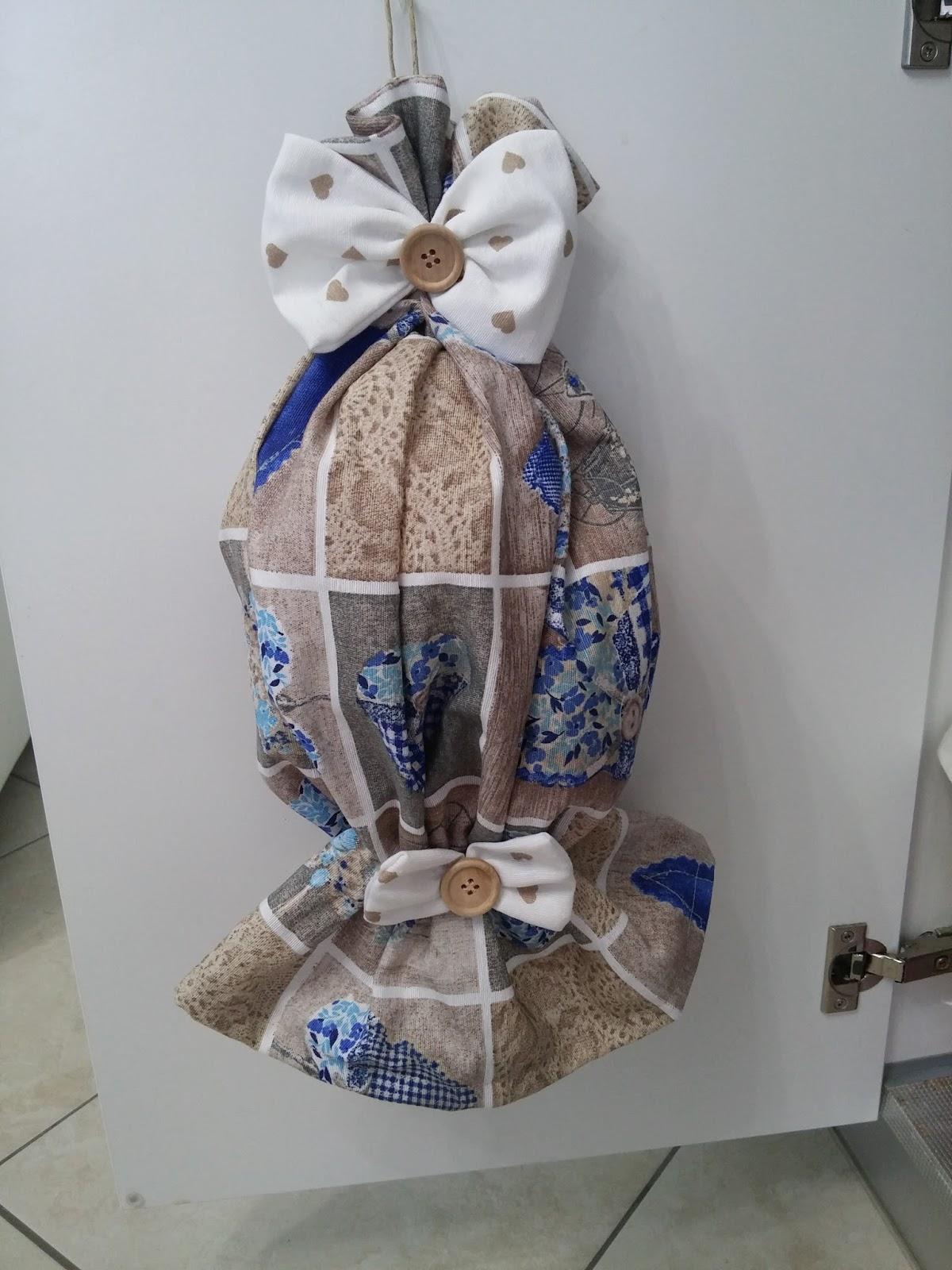 Porta sacchetti stoffa tutorial - Porta sacchetti ...