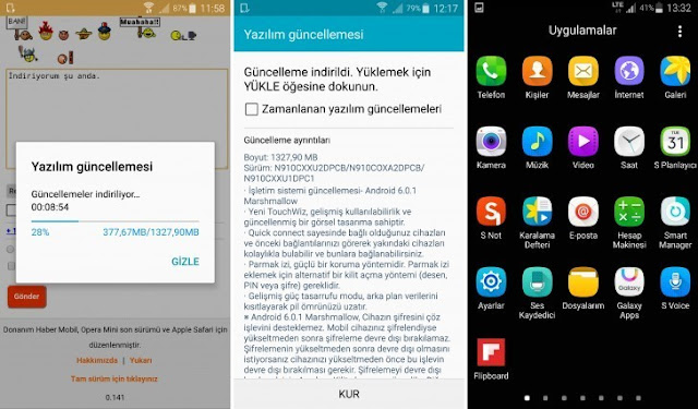 Samsung Galaxy Note 4 mulai mendapatkan update Android v6.0.1 Marshmallow