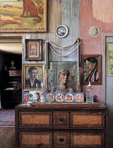 Alterazioni viniliche la decorazione d 39 interni nel bloomsbury group - Mobili anni venti ...