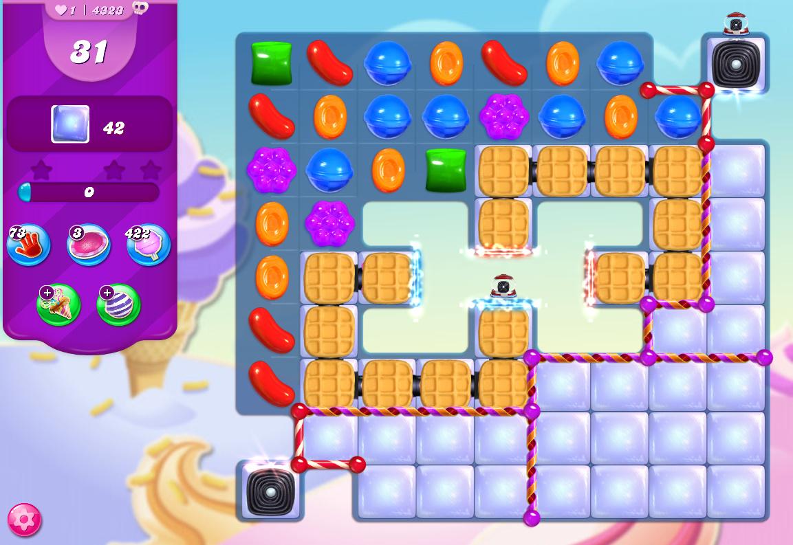 Candy Crush Saga level 4323