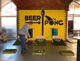 Golf Pong at Project B in Manchester