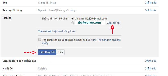 doi dia chi yahoo thanh gmail tren facebook 10