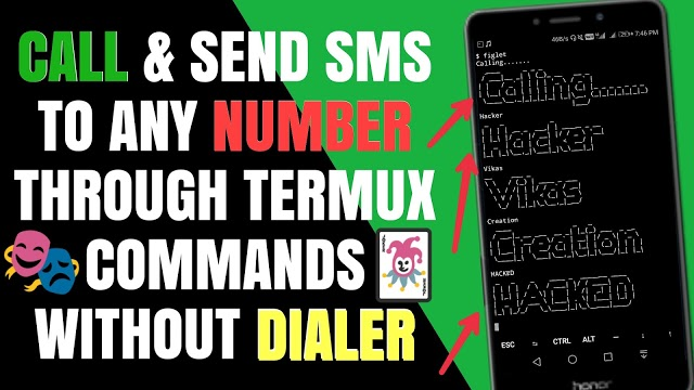 How To Make a Call & Send SMS Using Termux Without Root