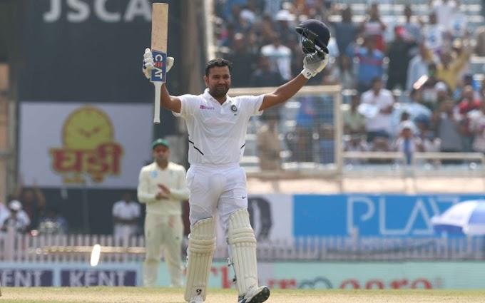 INDvSA 3rd Test: रोहित शर्मा की धांसू पारी, जड़ा करियर का पहला दोहरा शतक, Video