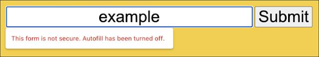 تحذير مستخدمي النماذج غير الآمنة على صفحات HTTPS