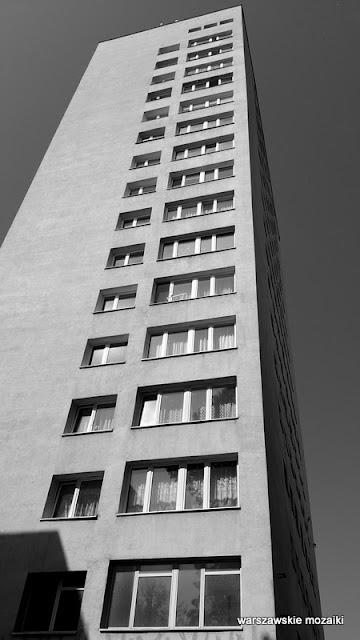Warszawa Warsaw blokowisko Mokotów