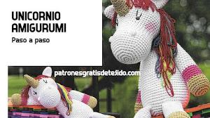 Patrones de Unicornio Amigurumi 🦄 Paso a paso